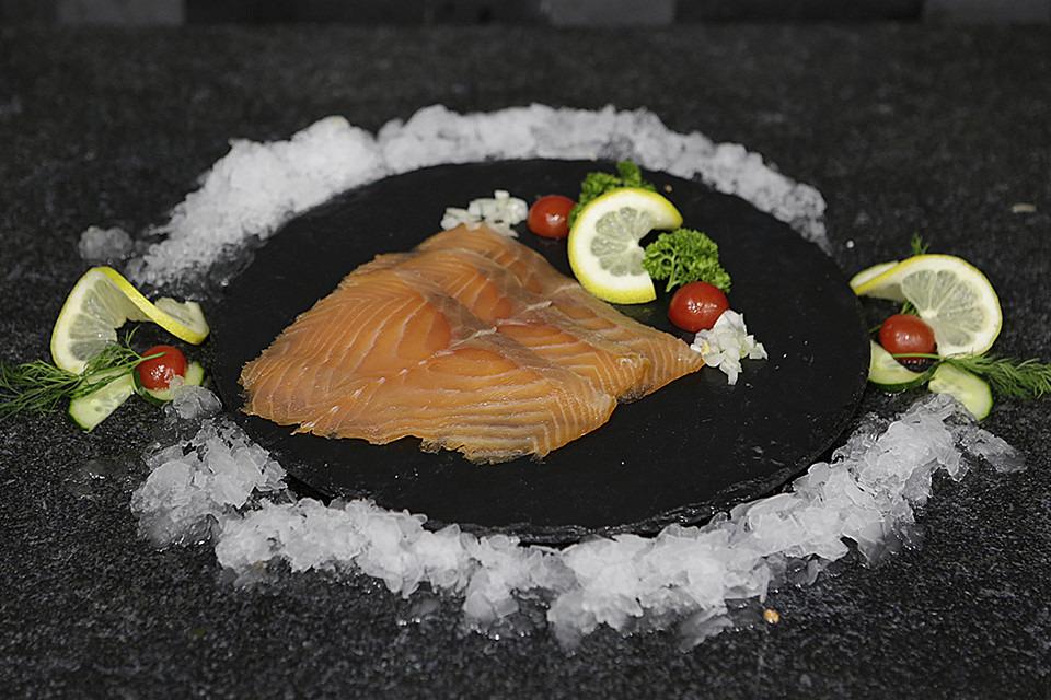 Gerookte zalm in sneetjes - Fishtime