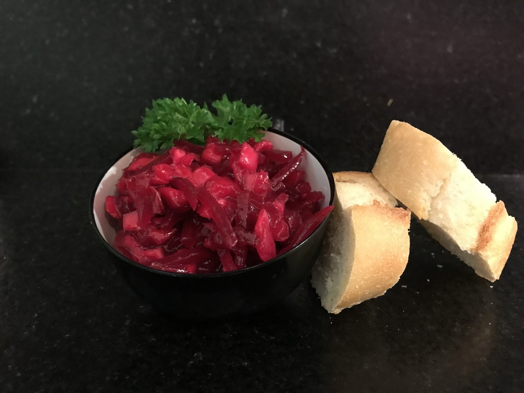 rode bietsalade - Fishtime