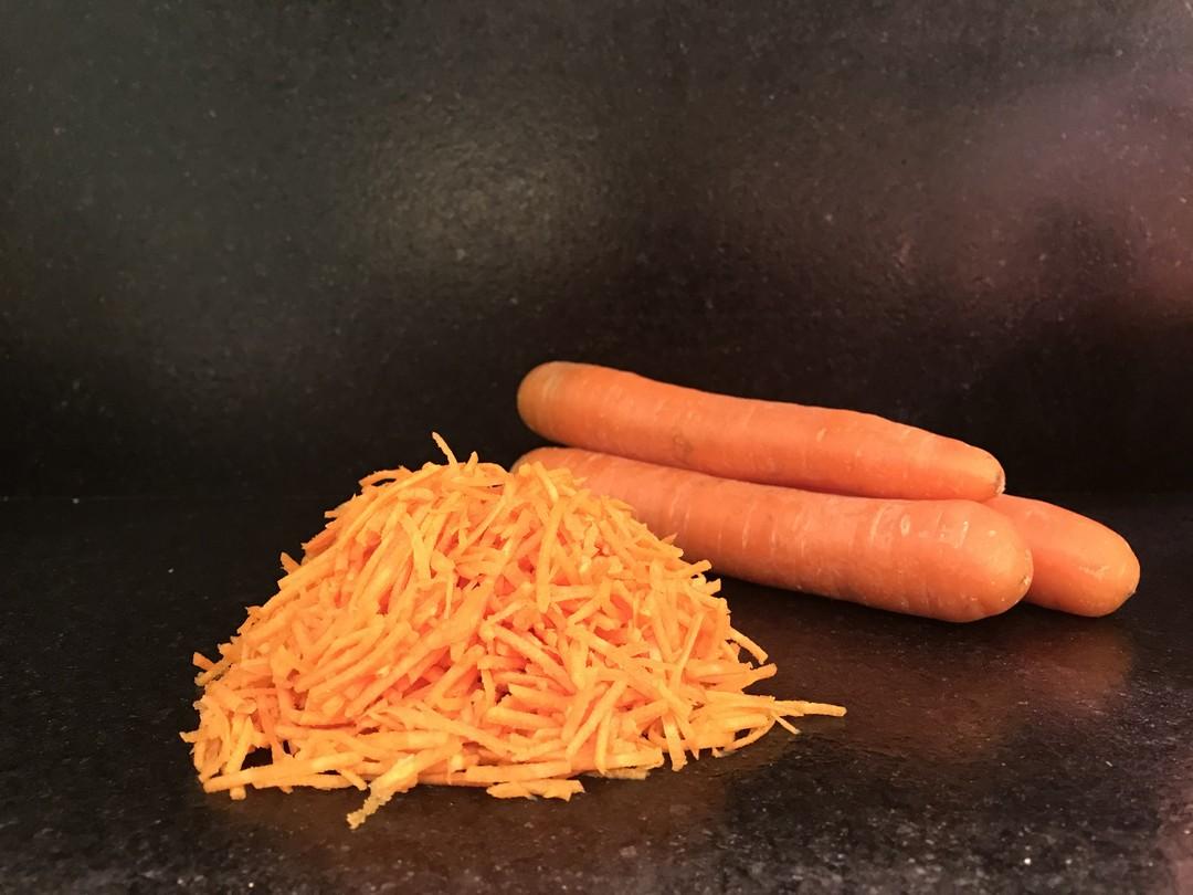 Geraspte wortelen - Fishtime