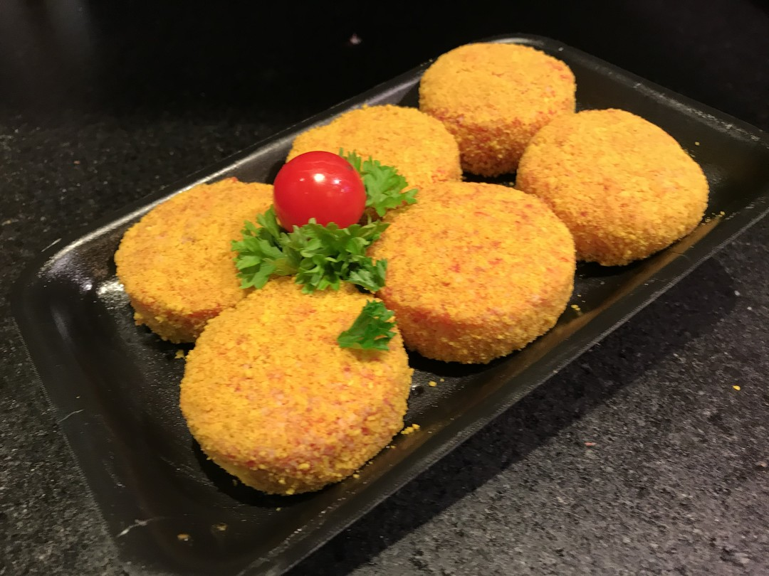 mini-kaasburgers 6 stuks - Fishtime