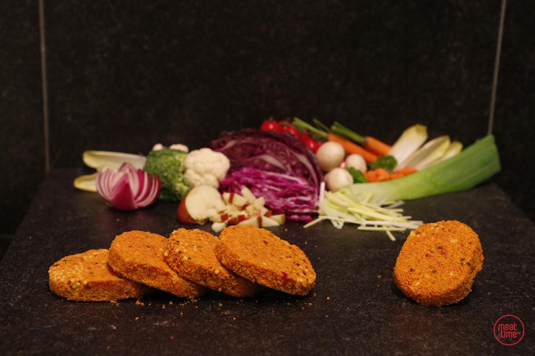 mini-hoeveburgers 6 stuks - Fishtime