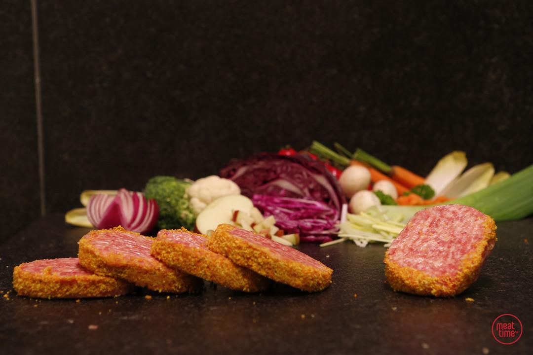 mini-ajuinburgers 6 stuks - Fishtime