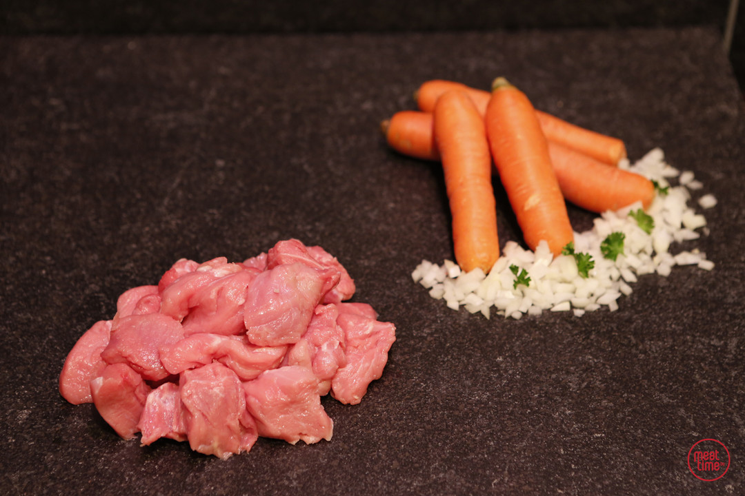fondueblokjes kalfsvlees - Fishtime