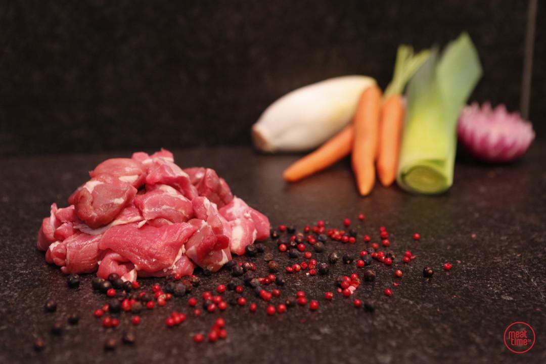 fondueblokjes lamsvlees - Fishtime