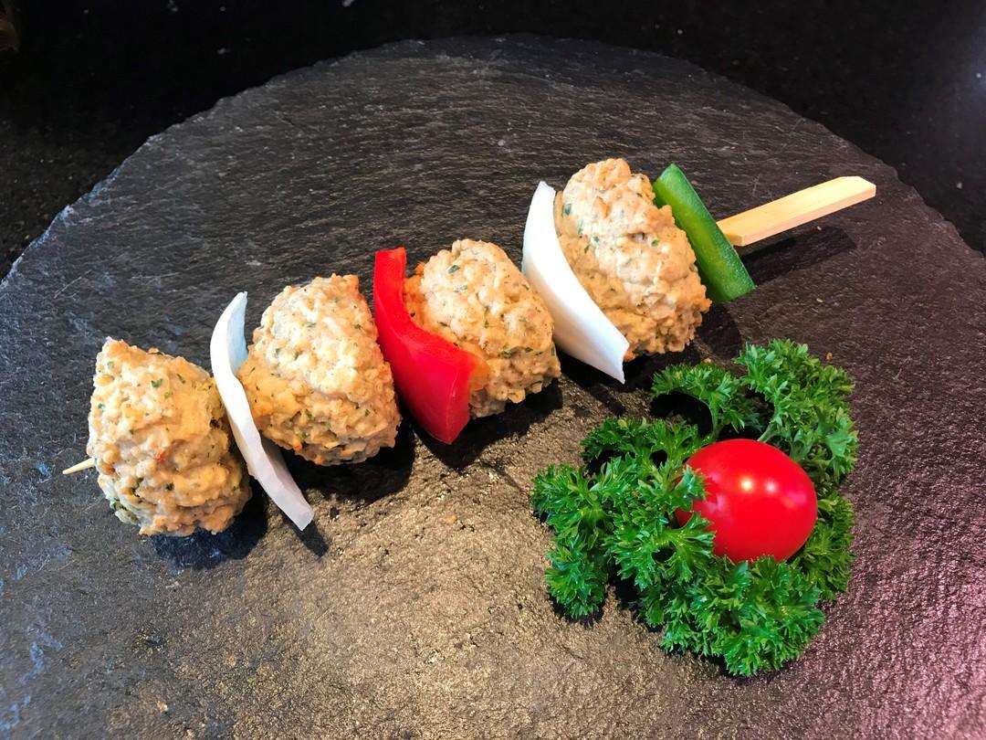 Vegetarische brochette - Fishtime