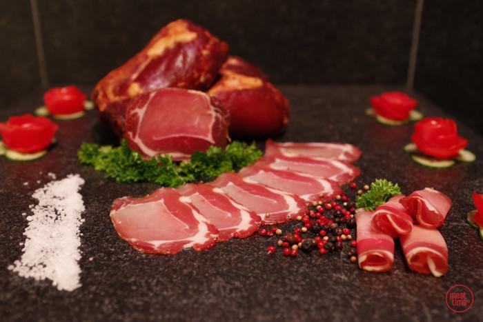 gerookte bacon huisbereid - Fishtime