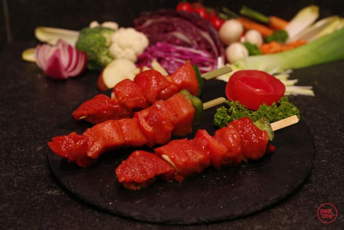 varkensbrochette (4 st. vlees) - Fishtime