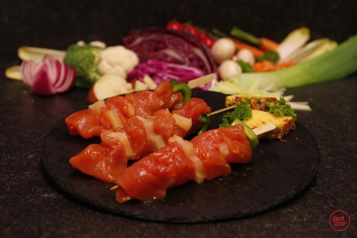 kalkoenbrochette (4 st. vlees) - Fishtime