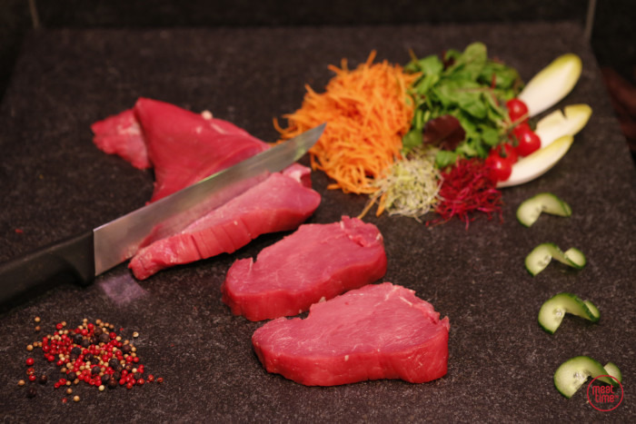 gepeld biefstuk wit-blauw ras - Fishtime
