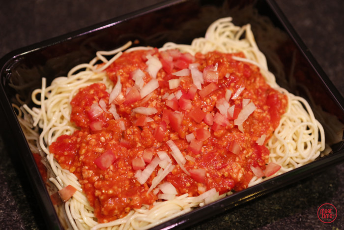 spaghetti portie - Fishtime