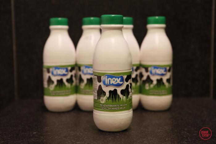 halfvolle melk Inex 0.5l - Fishtime