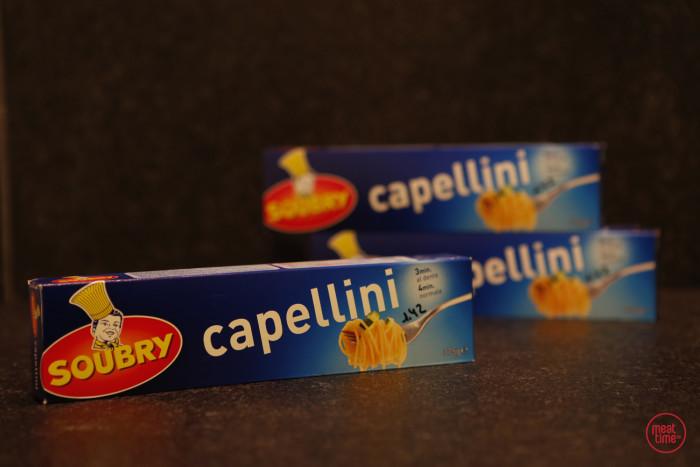 spaghetti cappelini 375gr - Fishtime