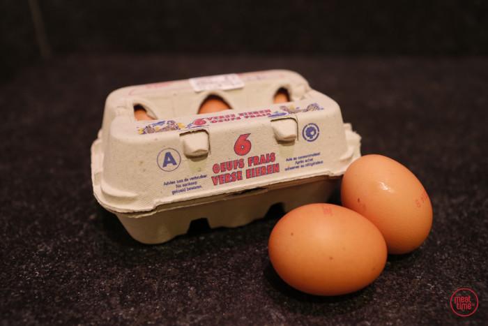 verse eieren 6 stuks - Fishtime