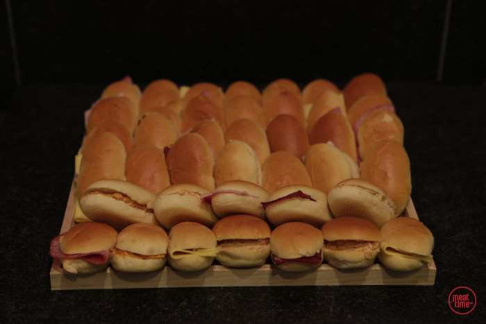 verrassingsbrood mini-sandwiches  - Fishtime