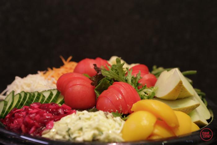 groentenschotel koud - Fishtime