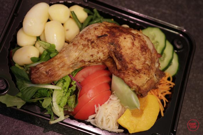 Groentenschotel met gebraden kippebil - Fishtime