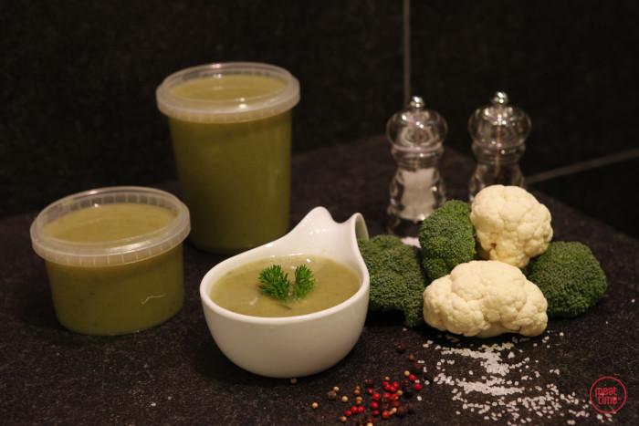 Broccoli-bloemkoolsoep - Fishtime