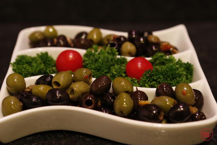 Gemengde olijven met paprika - Fishtime
