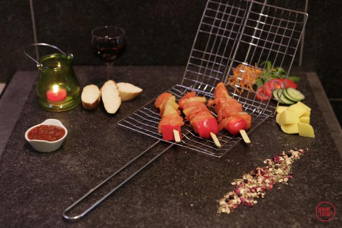Kalkoenbrochette (3 st. vlees) - Fishtime