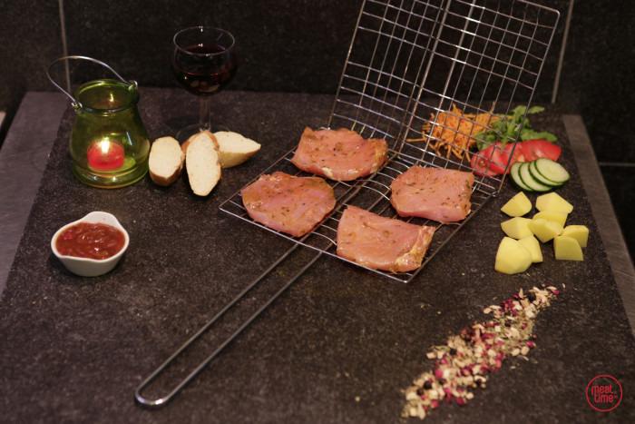 Gemarineerde kotelet 100 gr BBQ - Fishtime
