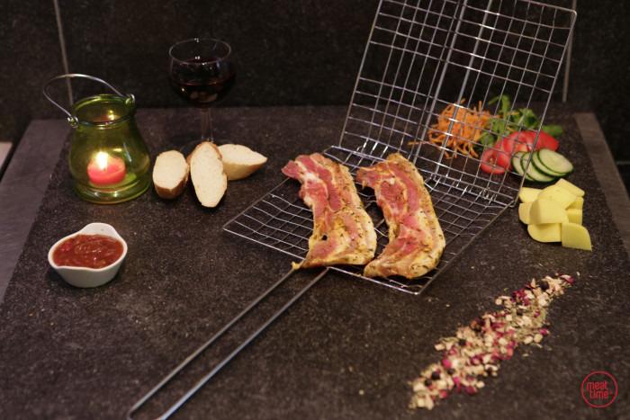 Gemarineerd buikspek 100 gr BBQ - Fishtime