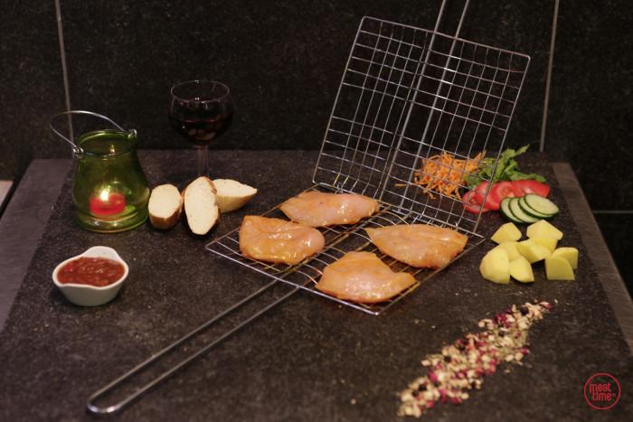gemarineerde kipfilet 100 gr BBQ - Fishtime