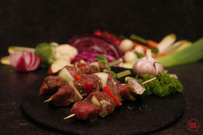 Lamsbrochette (3 st. vlees) - Fishtime