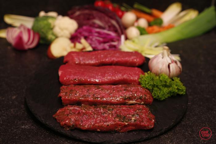 gemarineerde lamsfilet 100 gr BBQ - Fishtime