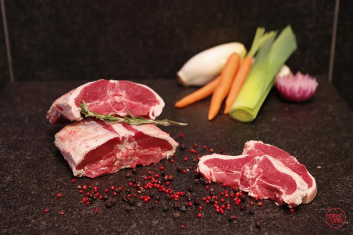 gemarineerde lamskotelet 120 gr BBQ - Fishtime